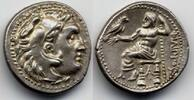 Macedon / Makedonien AR Drachm / Drachme 323-280 BC fast Stgl Philip III... 600,00 EUR  plus 12,00 EUR verzending