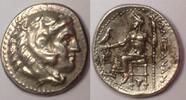 MACEDON / MAKEDONIEN AR Drachm / Drachme 324/3 BC vzgl+ Macedonian Kingd... 275,00 EUR  plus 12,00 EUR verzending