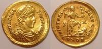 AV Solidus  Roman Empire / Römische Kaiserzeit THEODOSIUS I. 379-395 AD... 1400,00 EUR  +  15,00 EUR shipping