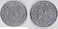 Deutschland - Alliierte Besetzung 10 Reichspfennig
