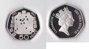 50 Pence 1993 England Elizabeth II PP-  36,90 EUR  +  5,50 EUR shipping