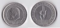 3 RM 1929 A Deutsches Reich - Weimar Reichsverfassung ss  35,50 EUR  +  5,50 EUR shipping