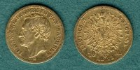 Sachsen 10 Mark 1873 E ss Johann