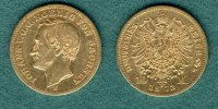 Sachsen 10 Mark 1872 E f.ss Johann