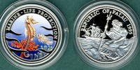 5 Dollars 1995 Palau Meeresfauna, Seepferdchen  --coloriert-- PP  24,90 EUR