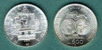 500 Lire 1985 Italien Mondo Unito dell'Adriatico stgl.  17,90 EUR