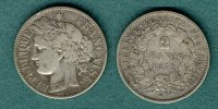 2 Francs 1872 K Frankreich 3. Republik f.ss  12,90 EUR  +  5,90 EUR shipping