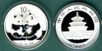 China 10 Yuan 2009 stgl. Panda   1 oz. Ag   42,50 EUR incl. VAT., +  5,90 EUR shipping