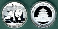 China 10 Yuan Panda   1 oz. Ag