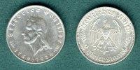 2 Reichsmark 1934 F III. Reich Friedrich von Schiller ss/vz  49,90 EUR