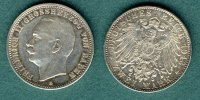 Baden 2 Mark 1913 G vz Friedrich II. 289,00 EUR