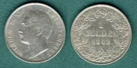 Wrttemberg 1 Gulden Wilhelm I.