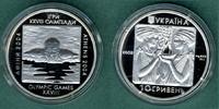 10 Hryven 2002 Ukraine Olympiade-Schwimmer PP  22,50 EUR