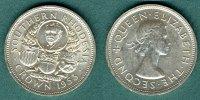 1 Crown 1953 Südrhodesien Cecil John Rhodes vz/stgl.Randfehler  40,00 EUR