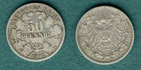 Kaiserreich 50 Pfennig 1902 F ss J.15
