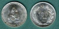500 Lira  1980 Türkei FAO / Mutter mit Kind vz/stgl.  13,90 EUR