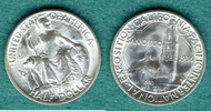 1/2 Dollar 1936 D USA San Diego - Pacific International Exposition vz/s... 129,00 EUR  +  6,90 EUR shipping