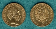 10 Mark 1875 E Sachsen Albert ss  269,00 EUR  +  6,90 EUR shipping