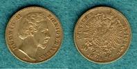 10 Mark 1873 D Bayern Ludwig II. ss  235,00 EUR  +  6,90 EUR shipping