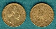 20 Mark 1872 D Bayern Ludwig II. ss+  335,00 EUR  +  9,90 EUR shipping