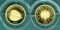 20 Euro 2015 F Bundesrepublik Deutscher Wald ' Linde ' / mit Zertifikat... 199,00 EUR  +  6,90 EUR shipping