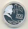 NORWEGEN, NORWAY 200 Kronen 2014 PP, Proof 200 Nkr. 2014, Grunnloven, Si... 125,00 EUR