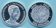500 Dkr 2015 DÄNEMARK, DENMARK 500 Dkr, 2015, 75. Geburtstag Königin, S... 120,00 EUR