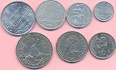 0,50 - 50 Francs 1965-1967 FRANZÖSISCH POLYNESIEN, TAHITI KMS 7 Werte 0... 50,00 EUR