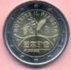 2 Euro 2015 ITALIEN 2 Euro 2015, Expo Milano, Bimetall, stfr. stfr  3,75 EUR