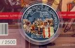 5 Euro 2015 LUXEMBURG 5 Euro 2015, Wiener Kongress Silber, mit Farbe, i... 91,00 EUR