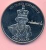 One Dollar 2015 BRITISCH VIRGIN-ISLANDS 1 Dollar 2015,Elisabeth II., Lä... 15,00 EUR