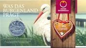 10 Euro 2015 ÖSTERREICH, AUSTRIA 10 Euro 2015, Burgenland, Störche Silb... 34,00 EUR