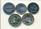 1 - 25 Pds. 1996-2004 SYRIEN, SYRIA KMS 5 W. 1 - 25 Pounds aus 1996 - 2... 6,00 EUR  +  2,00 EUR shipping