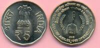 5 Rupien 2015 INDIEN 5 Rupien 2015, Golden Jubilee of 1965 Operations A... 2,00 EUR  +  2,00 EUR shipping