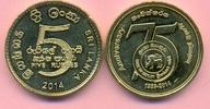 5 Rupien 2014 SRI LANKA 5 Rupien 2014, Bank od Ceylon Jubiläum 75 Jahre... 4,00 EUR  +  2,00 EUR shipping