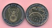 5 Rand 2015 SÜDAFRIKA 5 Rand 2015, 200 Jahre Griqua Town Bimetall, stfr... 6,00 EUR  +  2,00 EUR shipping