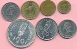188 Francs 1966-75 NEUE HEBRIDEN, NEW HEBRIDES KMS 7 Werte 1 - 100 Fr. ... 60,00 EUR  +  8,00 EUR shipping