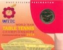 1 Ringgit 2016 MALAYSIA 1 Ringgit 2016, Tischtennis WM im Folder AluBr ... 20,00 EUR  +  3,00 EUR shipping