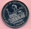 1 Crown 1998 ISLE OF MAN 1 Crown 1998, Lokomotive, The Rocket, KuNi stf... 25,00 EUR  +  6,00 EUR shipping