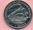 1 Crown 1998 ISLE OF MAN 1 Crown 1998, Lokomotive, Mallard, KuNi, stfr.... 25,00 EUR  +  6,00 EUR shipping