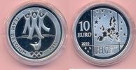 10 Euro 2016 BELGIEN 10 Euro 2016, Olympiade Rio, Silbe PP, mit Etui u.... 47,00 EUR  +  6,00 EUR shipping