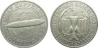 Weimarer Republik 3 Mark Zeppelin