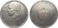 5 Mark Lessing 1929 G Weimarer Republik  kl. Rf., berieben, gutes sehr ... 130,00 EUR  plus 4,00 EUR verzending