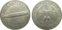 5 Mark Zeppelin 1930 A Weimarer Republik  knapp vorzüglich  160,00 EUR  plus 4,00 EUR verzending