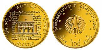 Deutschland 100 Euro 15,55g fein 28 mm Ø 2...