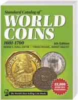 Weltmünzen 6.  Auflage 2014  17.  Jahrhund...