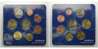 Andorra 3,88 € 2014  stgl Starterkit, zur ...