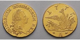 1777 A Brandenburg Preußen Brandenburg-Pr...