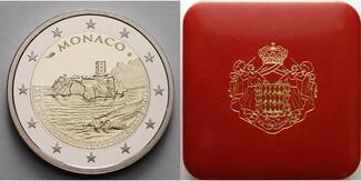 2 Euro 2015  Monaco 800.Jahrest.d.Baus d.1...