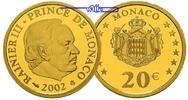 20 Euro, 5,81g fein,21 mm Ø 2002 Monaco Fürst Rainier III. PP  750,00 EUR  +  23,00 EUR shipping